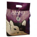 خاک کیسه ای گربه با عطر لوندر برند ژوانیت 10 کیلوگرمی