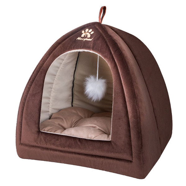 جای خواب مسقف سگ و گربه برند مری لند مدل Shatel