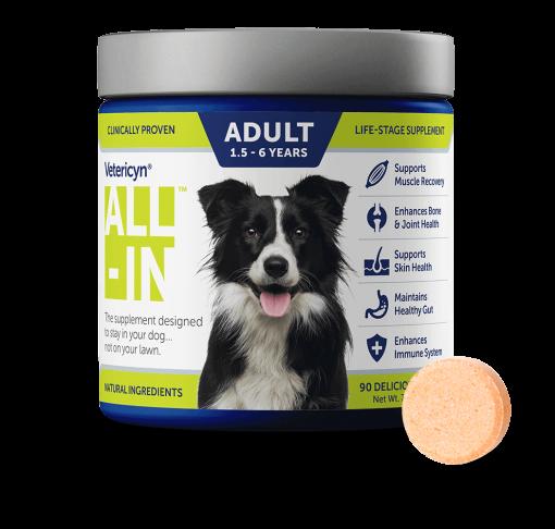 مکمل مخصوص سگ بالغ برند Vetericyn ALL-IN Dog