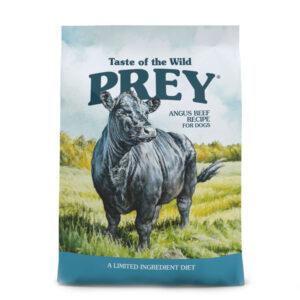 غذای خشک سگ بالغ Prey Angus Beef برند Taste Of The Wild