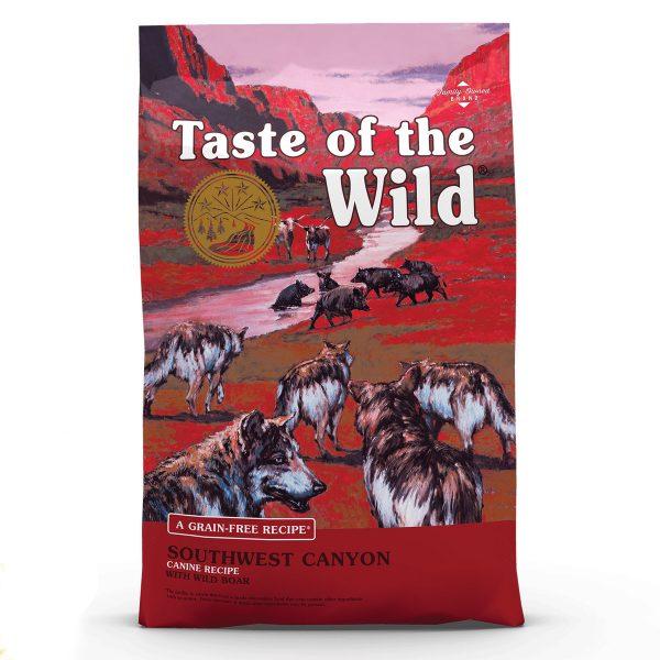 غذای خشک سگ بالغ Southwest Canyon برند Taste Of The Wild