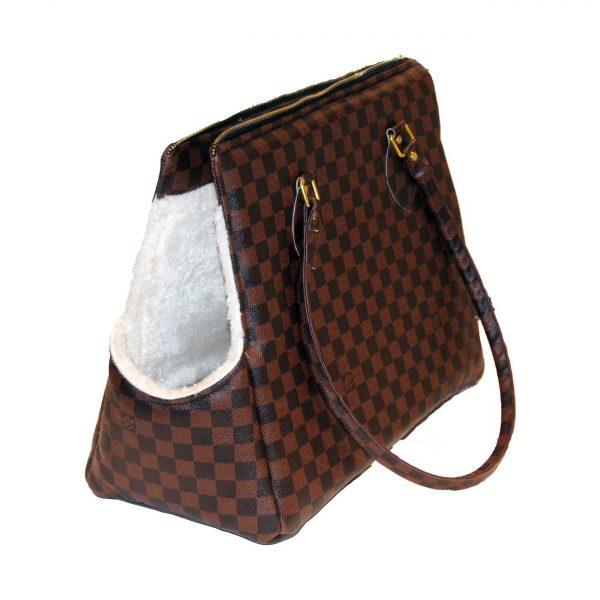 کیف حمل وینر مناسب سگ طرح شطرنجی برند مدکاو