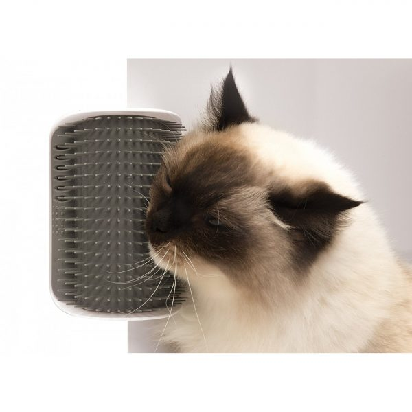 برس ماساژور گربه با قابلیت اتصال به دیوار و پایه صندلی