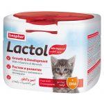 شیر خشک بچه گربه لاکتول برند بیفار