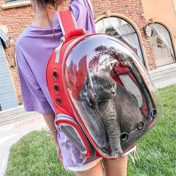 کوله حمل حیوانات خانگی مدل فضایی مناسب همه حیوانات سایز کوچک