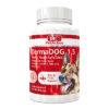 قرص مخمر مکمل سگ بایو پت اکتیو مدل Derma DOG 1.5 وزن 75 گرم