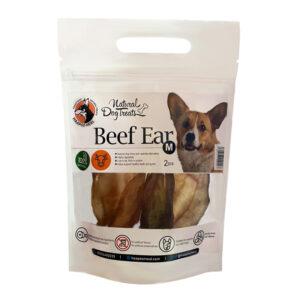 تشویقی سگ هاپو میل گوش گاو Beef Ear وزن 100 گرم