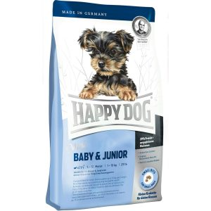 غذای خشک سگ هپی داگ Mini Baby & Junior وزن 8 کیلوگرم