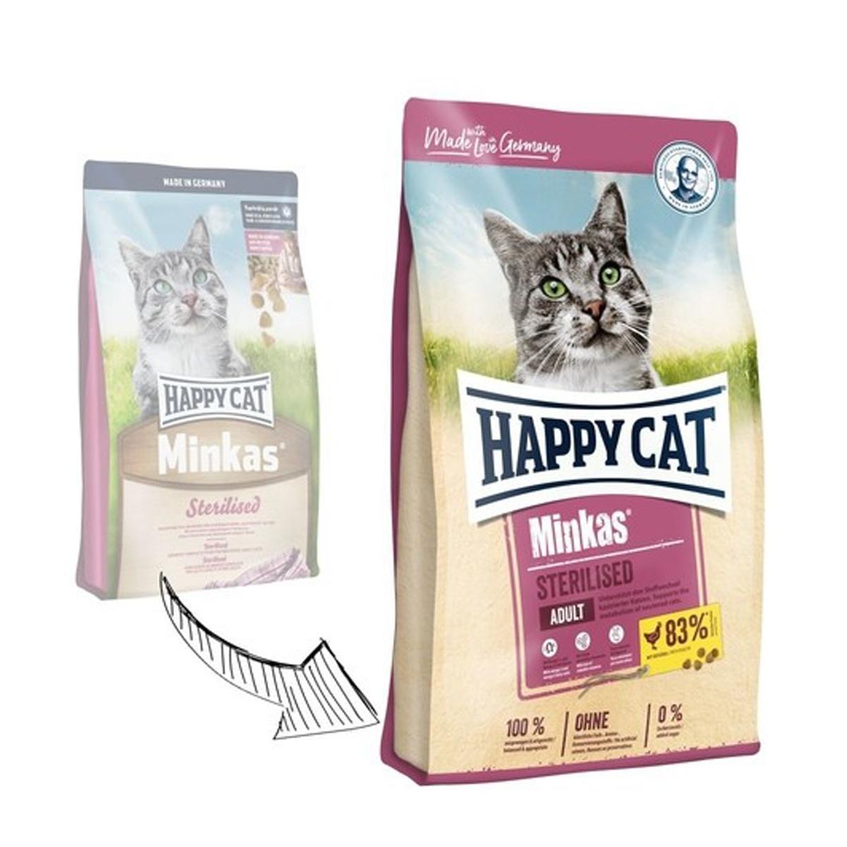 غذای هپی کت گربه عقیم شده