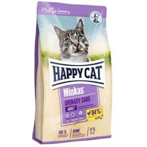 غذای خشک گربه مینکاس یورینری هپی کت وزن 10 کیلوگرم