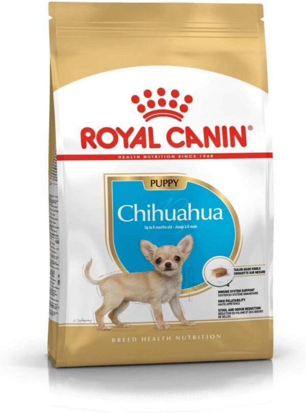 غذای خشک توله سگ چیهواهوا برند رویال کنین 1.5 کیلوگرمی