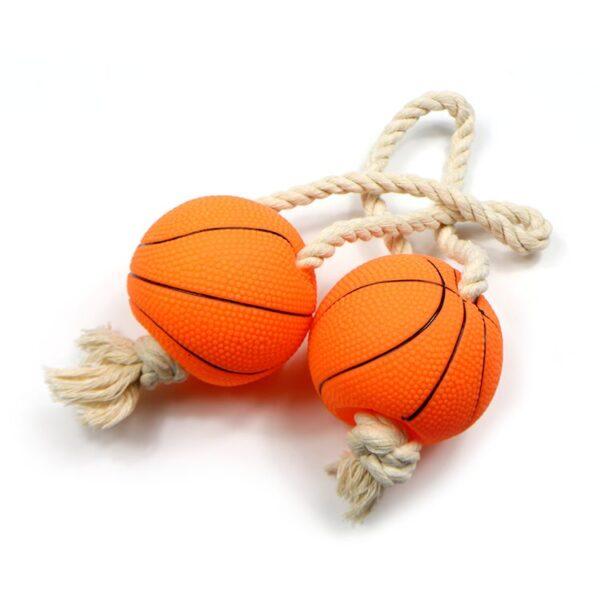 توپ بازی بسکتبال با کناف مناسب سگ