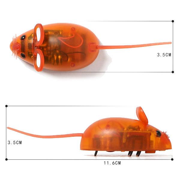 موش اسباب بازی باطری خور مخصوص گربه