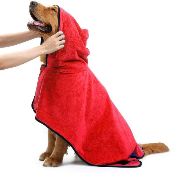 حوله لباسی مناسب سگ و گربه سایز بزرگ
