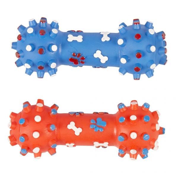 اسباب بازی دندانی سگ و گربه پلاستیکی مدل دمبل