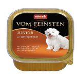 غذای کاسه ای فینستن حاوی گوشت بوقلمون مناسب توله سگ برند آنیموندا