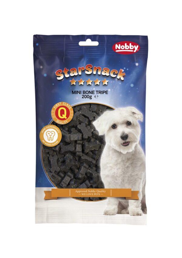 تشویقی نرم سگ مدل استخوان کوچک با طعم سیرابی برند نوبی