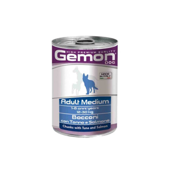 Chunks with Tuna and Salmon – Adult Medium