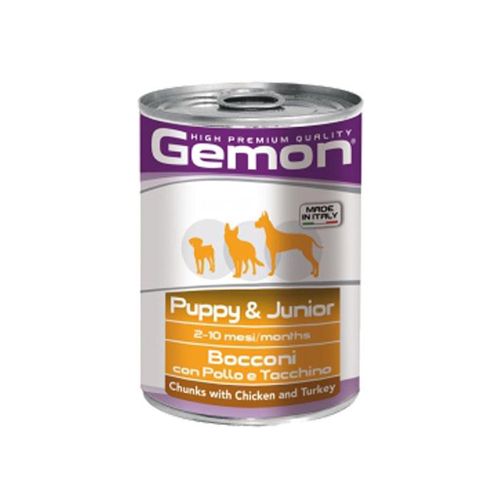 Gemon Chunks With Chicken And Turkey-Puppy & Junior