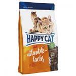 غذای خشک مناسب گربه بالغ با طعم ماهی سالمون برند هپی کت 10 کیلوگرمی