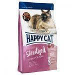 غذای خشک مناسب گربه بالغ عقیم شده برند هپی کت 4 کیلوگرمی