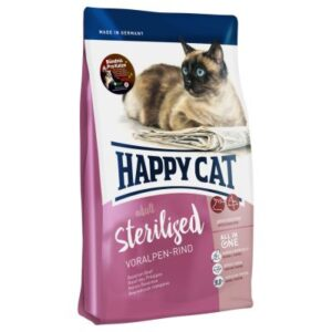 Happy Cat Adult Sterilised Alpine Beef Dry Food