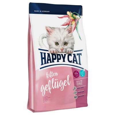 Happy Cat Kitten Poultry Dry Food