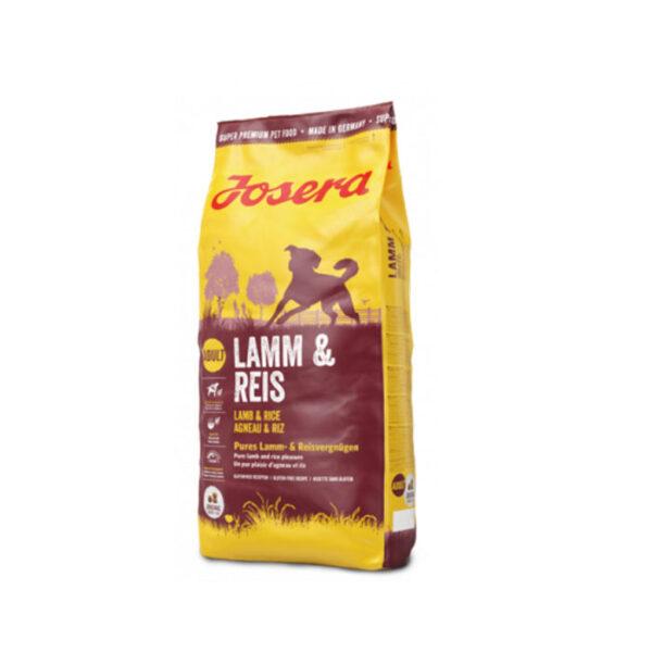 غذای خشک مناسب سگ بالغ با طعم گوشت بره و برنج برند جوسرا