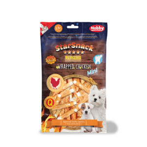 Nobby Star Snack Mini Barbecue Wrapped Chicken