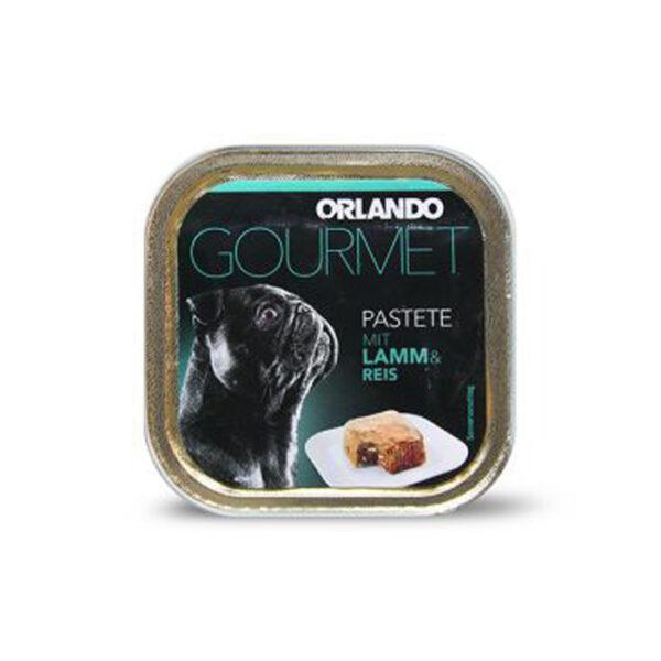 Orlando lamb rice food dog