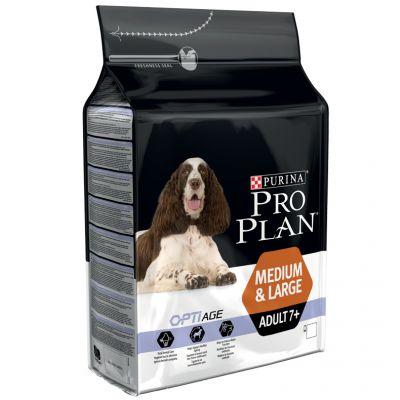 غذای خشک مناسب سگ بالغ نژاد بزرگ و متوسط بالای 7 سال برند پروپلن 14 کیلوگرمی