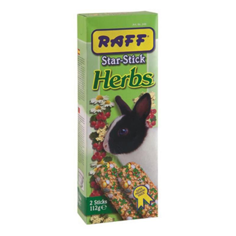 استیک خرگوش غنی شده با گیاهان دارویی هربس برند راف