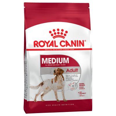 غذا خشک سگ بالغ نژاد متوسط