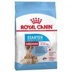غذای خشک مدیوم استارتر مادر و توله سگ برند رویال کنین 4 کیلوگرمی