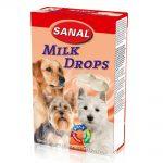 شکلات شیری مناسب سگ مدل قطره ای برند سانال 125 گرمی