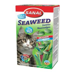 قرص ویتامینه مخمر جلبک دریایی مناسب گربه برند سانال 50 گرمی