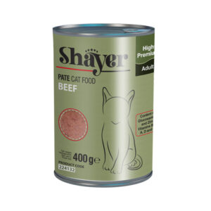Shayer pate can food beef cat adult