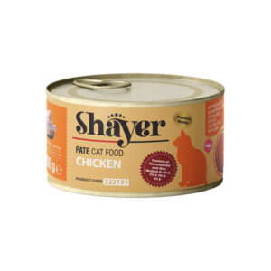 Shayer pate cat food chicken 200g