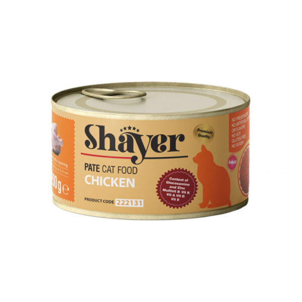 Shayer pate cat food chicken 200g