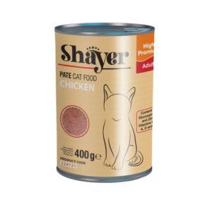 Shayer pate cat food chicken