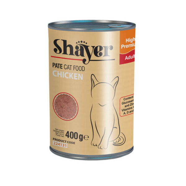 Shayer pate cat food chicken