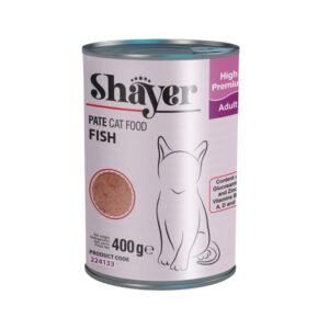 Shayer pate cat food fish