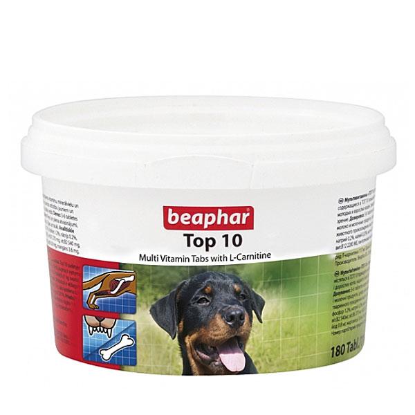 قرص مولتی ویتامین سگ تاپ تن برند بیفار