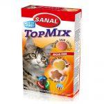 قرص ویتامینه مخمر TopMix مناسب گربه برند سانال 50 گرمی