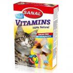 قرص ویتامینه مناسب گربه برند سانال 50 گرمی