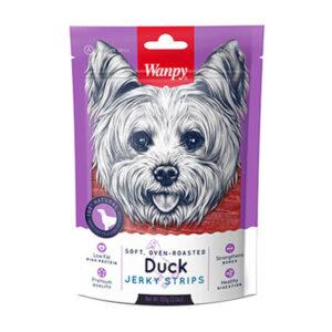 تشویقی سگ با طعم گوشت اردک Jerky Strips برند ونپی