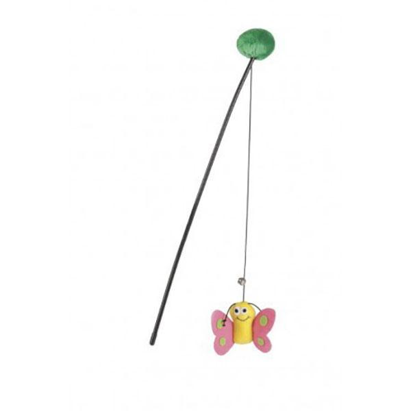 میله بازی گربه با آویز طرح پروانه برند بیزتیز