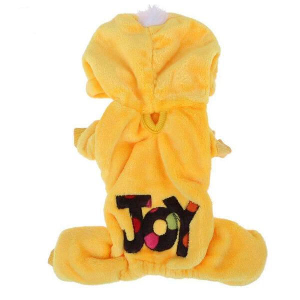 لباس پنبه ای سگ و گربه مدل JOY سایز کوچک