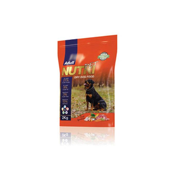 nutri pet 2 kg dry dog food