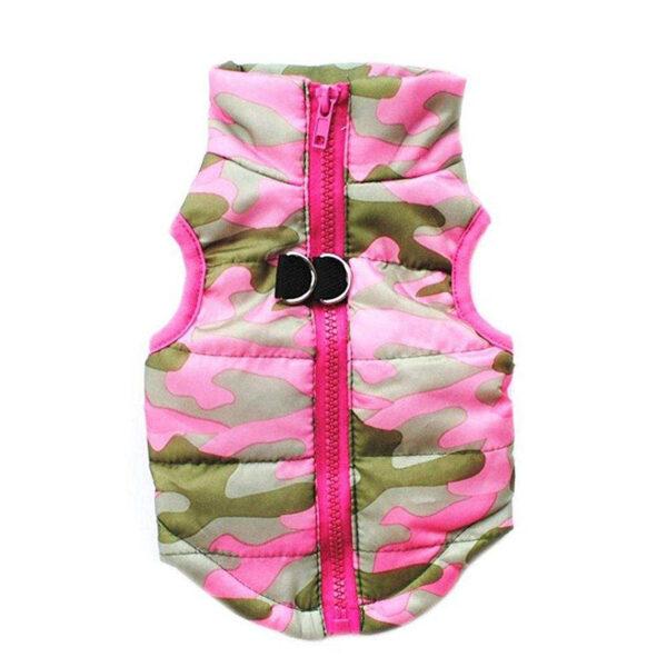 pink dress model zipper for dog and cat size medium